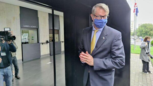 Европейские наблюдатели. Глава Миссии Евросоюза в Грузии Карл Харцель  - Sputnik Грузия