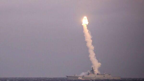 Фрегат Адмирал Горшков провел успешный пуск ракеты Циркон - Sputnik Грузия