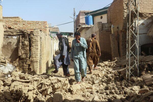 В провинции Белуджистан на востоке Пакистана произошло землетрясение магнитудой 5,9 - Sputnik Грузия