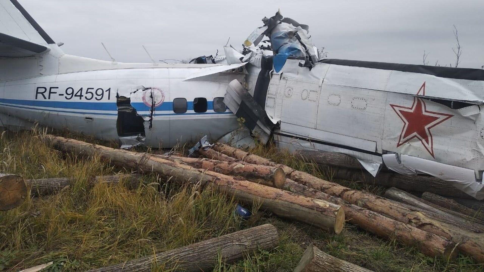 Крушение самолета L-40 в Татарстане - Sputnik Грузия, 1920, 10.10.2021