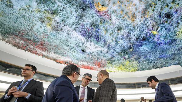Заседание Совета по правам человека ООН в Женеве - Sputnik Грузия