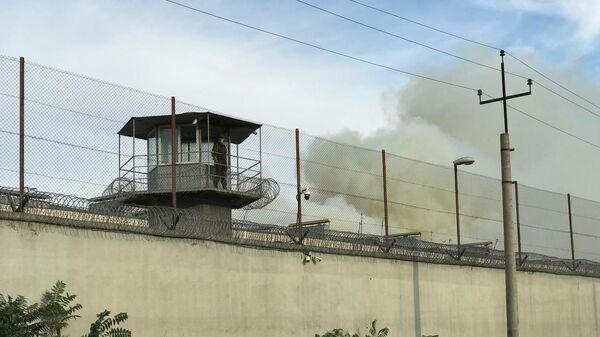 Пожар в Руставской тюрьме - Sputnik Грузия