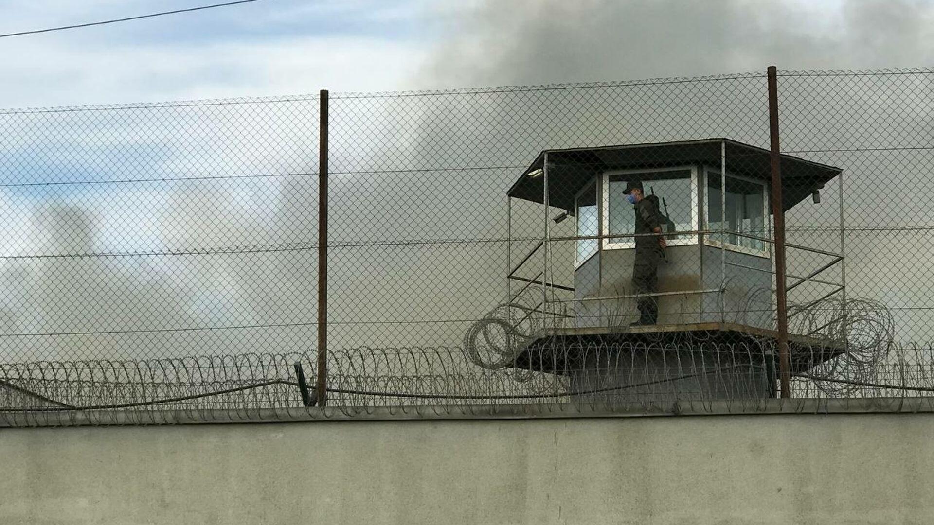 ხანძარი რუსთავის ციხეში - Sputnik საქართველო, 1920, 14.10.2021