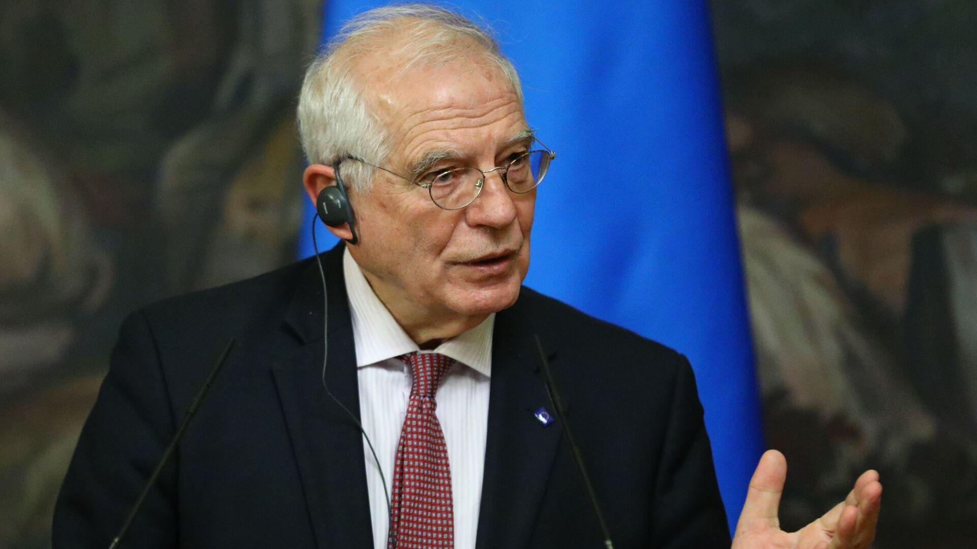 Верховный представитель Евросоюза по иностранным делам и политике безопасности Жозеп Боррель  - Sputnik Грузия, 1920, 14.10.2021