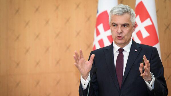 Министр иностранных дел Словакии Иван Корчок - Sputnik Грузия
