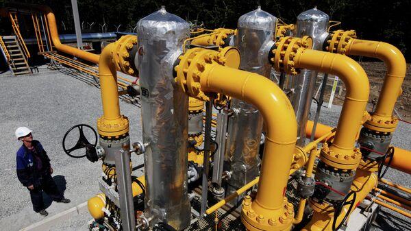 Строительство участка газопровода - Sputnik Грузия