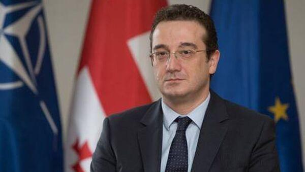 Посол Грузии в США Давид Бакрадзе - Sputnik Грузия