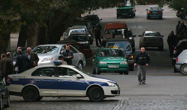 полиция Тбилиси - Sputnik Грузия