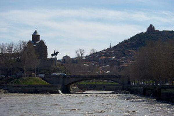 Тбилиси, набережная - Sputnik Грузия
