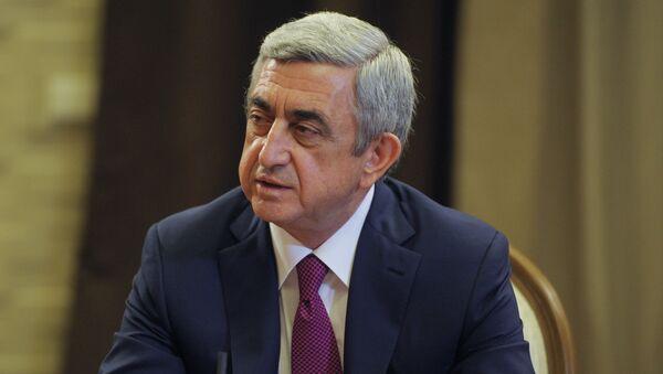სერჟ სარგსიანი - Sputnik საქართველო