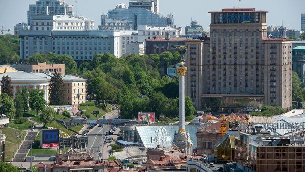 Вид на площадь Независимости в Киеве - Sputnik Грузия