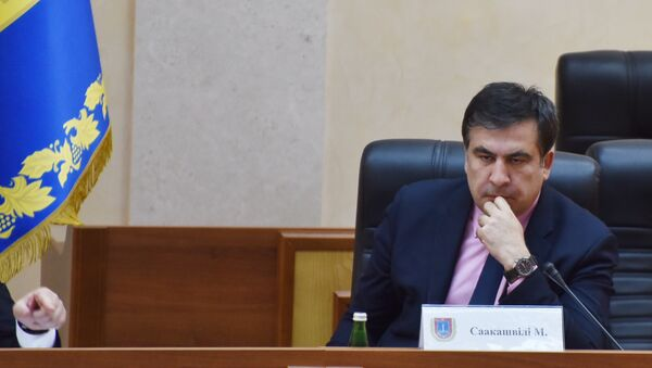 Президент Украины П.Порошенко назначил М.Саакашвили главой Одесской области - Sputnik Грузия