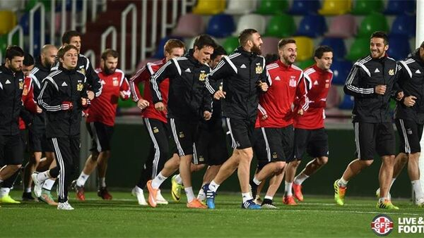 Национальная сборная Грузии по футболу - Sputnik Грузия