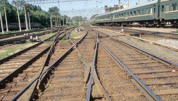 Железнодорожные пути - Sputnik Грузия