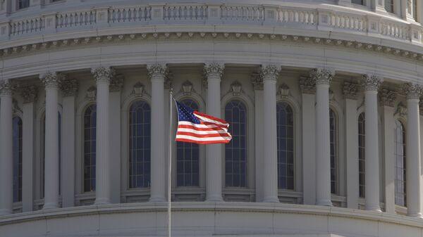 Фрагмент Капитолия Вашингтона - Sputnik Грузия