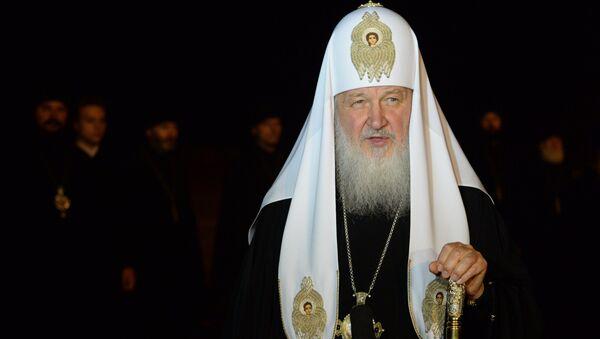 Патриарх Московский и всея Руси Кирилл - Sputnik Грузия