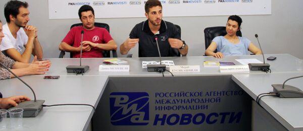 Педагоги Щукинского училища провели мастер-классы студентам Грузии - Sputnik Грузия