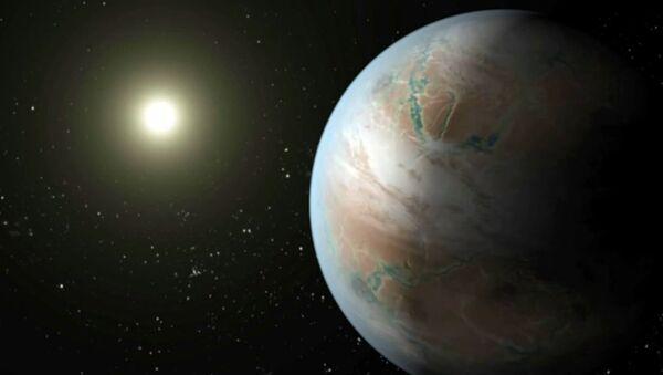 Как выглядит кузина Земли Kepler-452b из созвездия Лебедя. Анимация НАСА - Sputnik Грузия