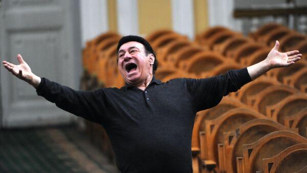 Зураб Соткилава на репетиции оркестра Виртуозы Москвы - Sputnik Грузия