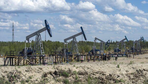 Нефтяные станки-качалки - Sputnik Грузия