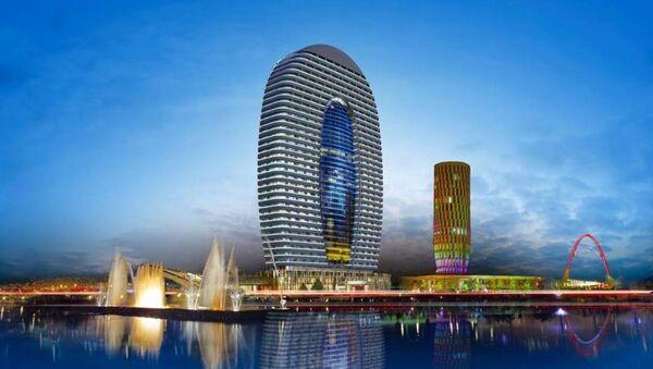 Многофункциональный 38-этажный комплекс «Альянс Палас» - проект - Sputnik Грузия