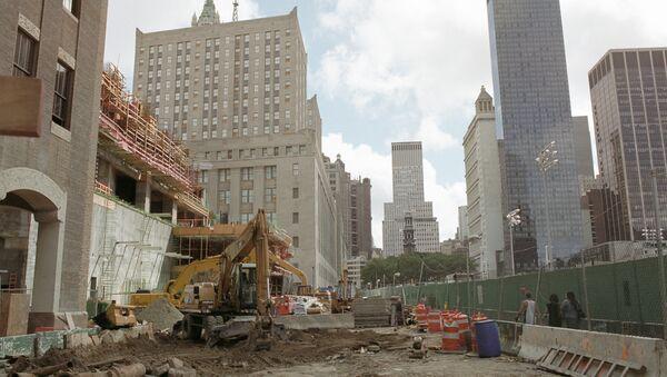 Место взрыва Всемирного Торгового центра в Нью-Йорке. Архивное фото - Sputnik Грузия