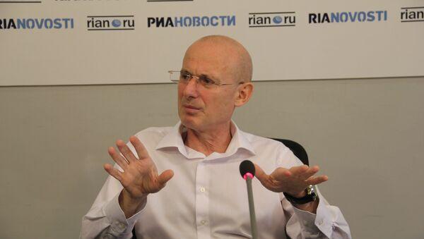 Председатель правозащитной организации Справедливая Грузия Коба Карчава - Sputnik Грузия