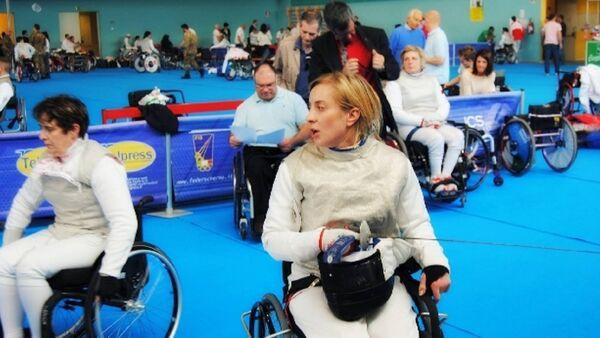 Ирма Хецуриани завоевала серебро на Чемпионате Мира по фехтованию среди паралимпийцев - Sputnik Грузия