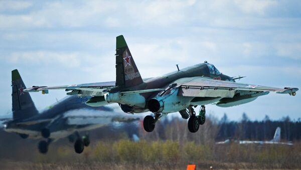 მოიერიშე თვითმფრინავი Су-25 - Sputnik საქართველო