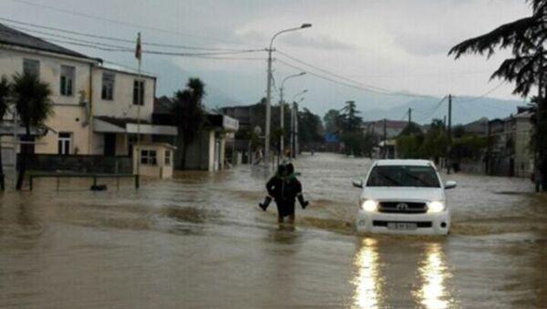 ძლიერი წვიმა დასავლეთ საქართველოში - Sputnik საქართველო