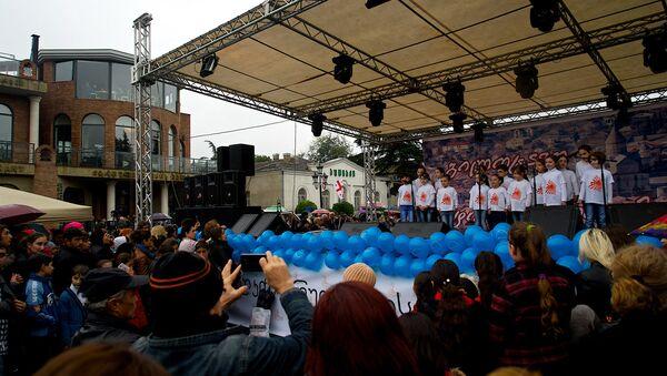 празднование Мцхетоба-Светицховлоба - Sputnik Грузия