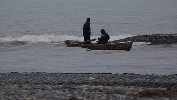 Рыбаки у берегов Анаклия - Sputnik Грузия