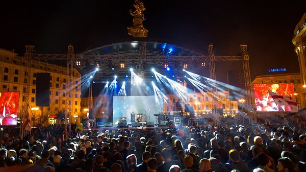 концерт в поддержку Рустави 2 - Sputnik Грузия