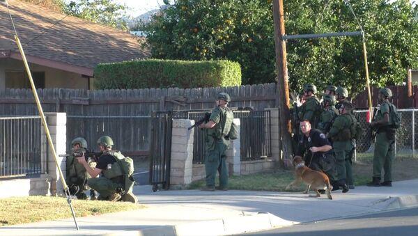 პოლიციამ გადაკეტა სროლის ადგილი კალიფორნიაში - Sputnik საქართველო