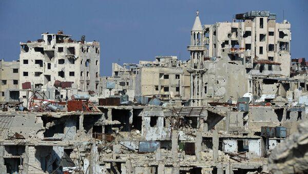 სირიის ქალაქი ჰომსი - Sputnik საქართველო