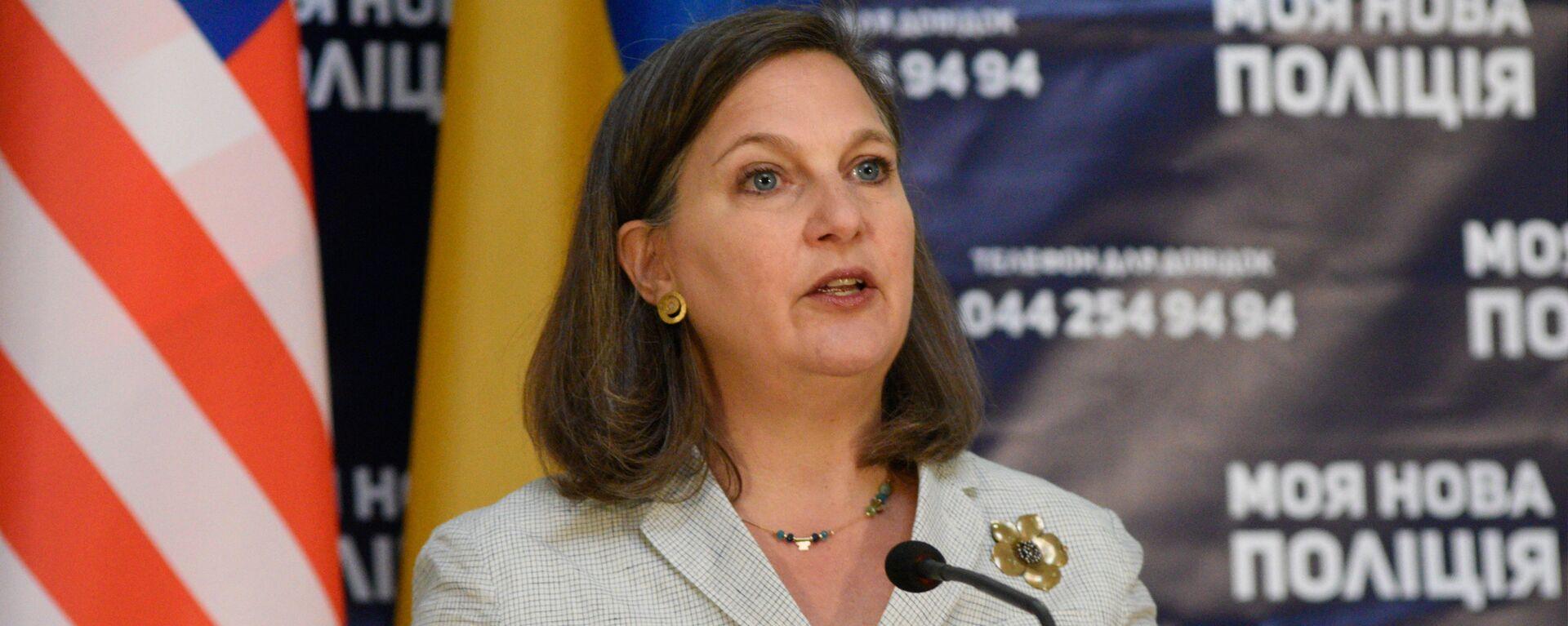 Помощник госсекретаря США Виктория Нуланд в Киеве - Sputnik Грузия, 1920, 12.10.2021