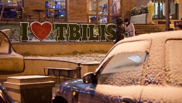 Первый снег в Тбилиси - Sputnik Грузия