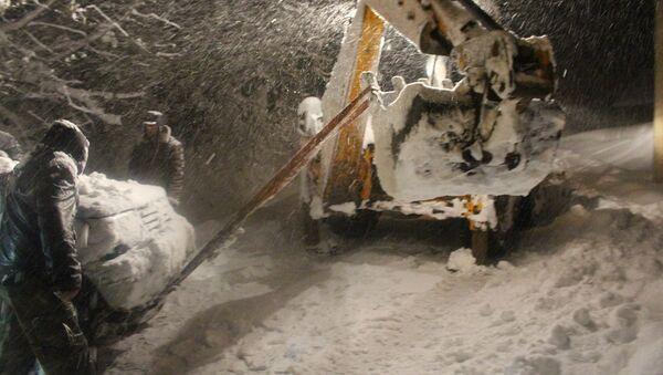 снегопад в Озургети, Гурия - Sputnik Грузия