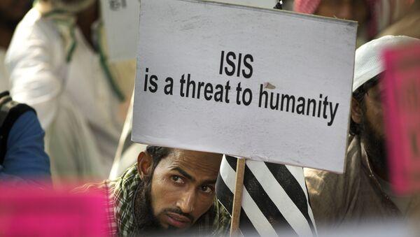 Акция индийских мусульман против ИГИЛ, архивное фото - Sputnik Грузия