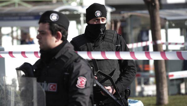 თურქი პოლიციელები - Sputnik საქართველო