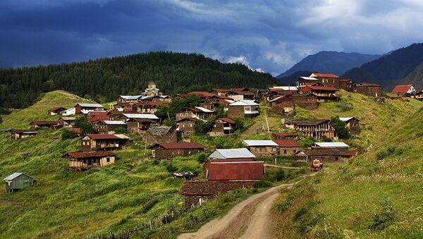 Село Шенако на границе с Дагестаном, 100 км от Ахмета, регион Кахети - Sputnik Грузия