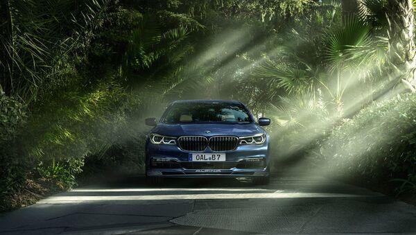 """ახალი BMW Alpina B7: ყველაზე მძლავრი """"შვიდიანი"""" - Sputnik საქართველო"""