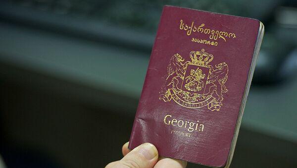 Грузинский паспорт - Sputnik Грузия