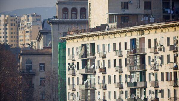 Жилые дома в центре грузинской столицы - Sputnik Грузия