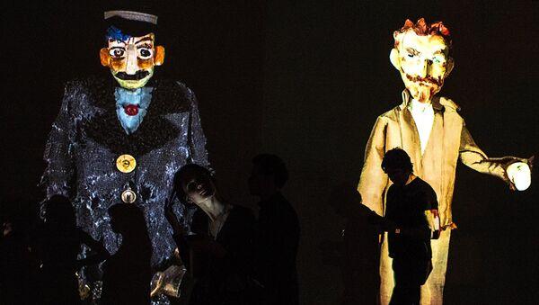 Куклы Театра Марионеток Резо Габриадзе. - Sputnik Грузия