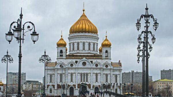 Храм Христа Спасителя в Москве. - Sputnik Грузия