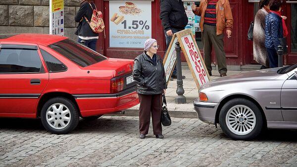 ხალხი თბილისის ქუჩებში - Sputnik საქართველო