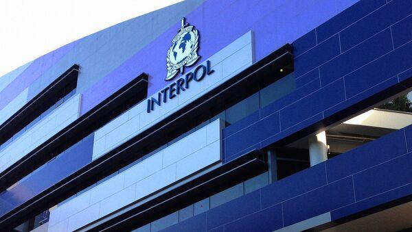 Логотип INTERPOL на фасаде здания - Sputnik Грузия