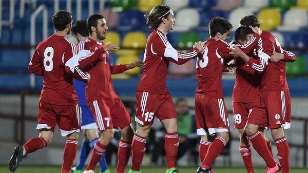 Молодежная сборная Грузии по футболу разгромила Сан-Марино - Sputnik Грузия