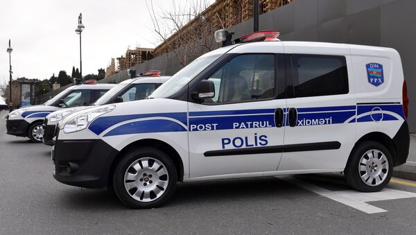 საპატრულო პოლიციის მანქანები ბაქოში - Sputnik საქართველო